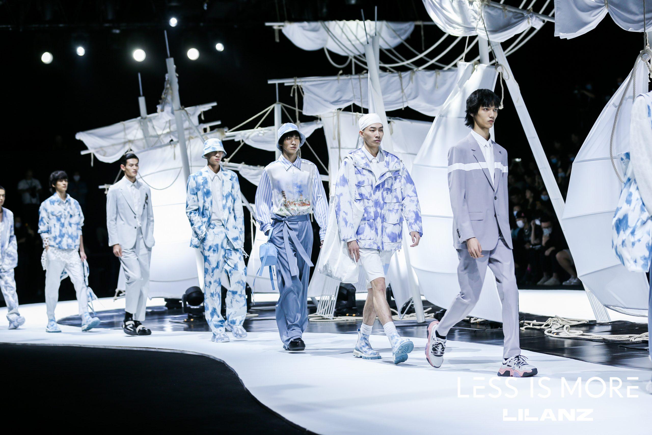 """特写 """"光明之城""""现身上海时装周!中国男装利郎 LESS IS MORE 系列联袂独立设计师举办压轴大秀"""