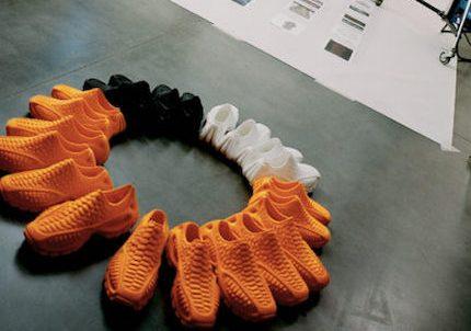 著名潮牌 Heron Preston 推出首款完全3D 打印的运动鞋
